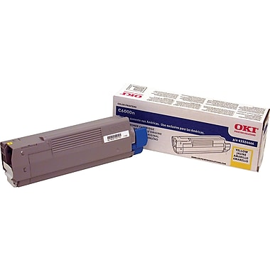 Okidata Yellow Toner Cartridge (43324466)