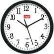 Staples 10in. Round Wall Clock,  Black