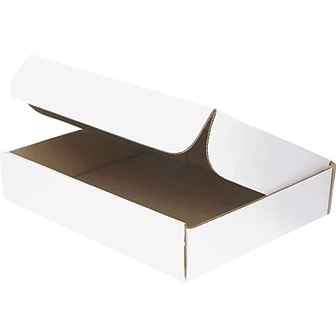 Staples® White Corrugated Document Mailers, 11-1/8in. x 8-3/4in. x 2-5/16in.