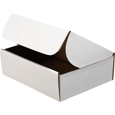 Staples® White Corrugated Document Mailers, 12-1/8in. x 9-1/4in. x 2in.