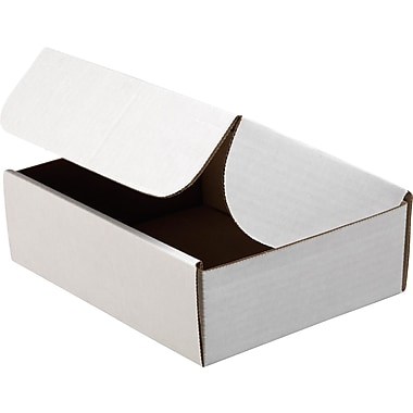 Staples® White Corrugated Document Mailers, 9in. x 6-1/2in. x 2-3/4in.