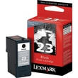Lexmark 23 Black Ink Cartridge (18C1523)