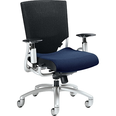 Global® Ride Mesh-Back Manager's Chair, Blue