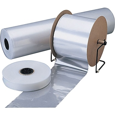 4-Mil Clear Polyethylene Tubing, 18