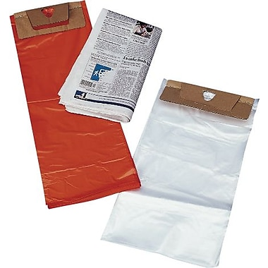 Newspaper and Magazine Bags with Door Knob Hole, 7 1/4in. x 14in.