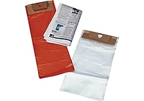 10'W x 16'L Newspaper and Magazine Bags with Door Knob Hole, Clear, 2000/Case (671016H)