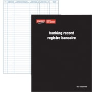 Staples® Banking Record Book Bilingual