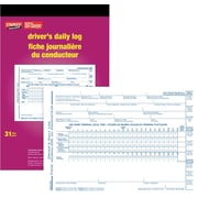 Staples® Driver's Daily Log, Bilingual