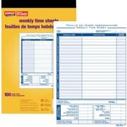 Staples® Timesheets, Bilingual