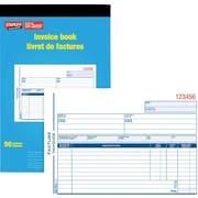 Staples® Invoice Books, Bilingual