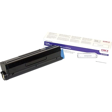 Okidata Black Toner Cartridge (43502001), High Yield