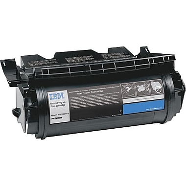 InfoPrint 75P6961 Return Program Black Toner Cartridge, High Yield