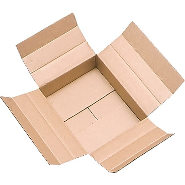 Vari-Depth Corrugated Boxes, 14in. x 14in. x 14in.