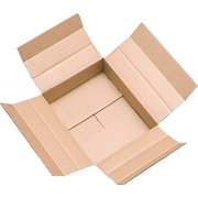 Vari-Depth Corrugated Boxes, 12 x 6 x 6, 25/pack