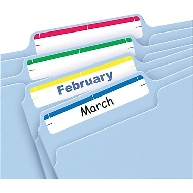 Avery® 5215 Print-or-Write Assorted File Folder Labels, 252/Pack