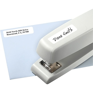 Avery® 5422 Print-or-Write Multiuse ID Labels, 1/2