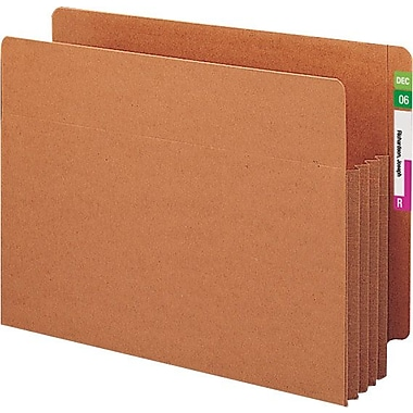Smead® End-Tab Tuff Pocket® Expanding File Pockets