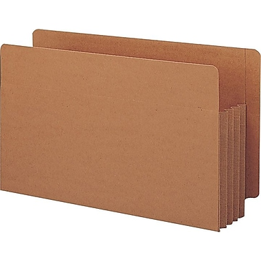 Smead® End-Tab Tuff Pocket® Expanding File Pockets, Legal, 3 1/2in. Expansion, 10/Box