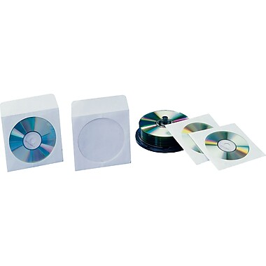 Paper CD Envelopes, White, 1000/Case