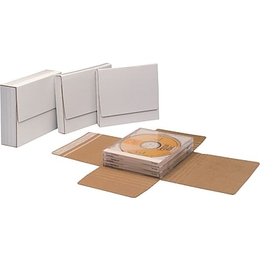 Single Jewel Case Mailer, 5 7/8in. x 5 1/16in. x 1/2in.