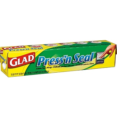 Glad® - Pellicule Press'n Seal, 21 m