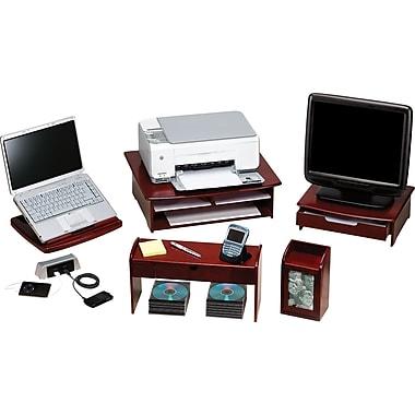 Eldon® Wood Tones™ Mahogany-Finish Desk Collection