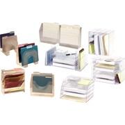 Rubbermaid® Optimizers™ Clear Plastic Desk Collection