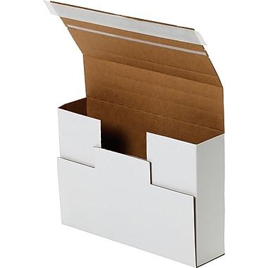 Boîte d'expédition de média pour DVD, 7,6 X 5,6 X 2,3 200/paquet