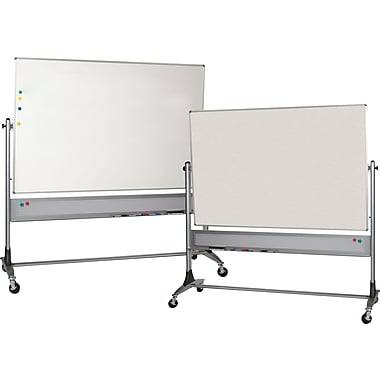 Balt® 4' x 6' Platinum Reversible Easel Boards with Dura-Rite® Surface