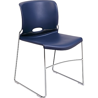 HON Olson Stacking Chair, 4-Pack, Regatta