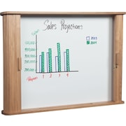 Best-Rite Tambour Enclosed Whiteboard Cabinet