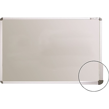 Best-Rite Projection Plus® Dry-Erase Board with Aluminum Frame, 6' x 4'