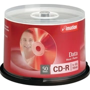 Imation 700MB CD-R, 50/Pack Spindle