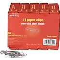 1000-Pack Staples #1 Size Paper Clips