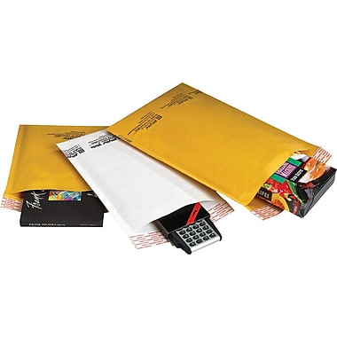 Jiffylite Mailer Kraft, 5in. x 10in., 250/Pack