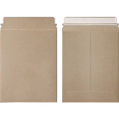 Kraft Stayflats Plus® Mailers, 12 3/4in. x 15in.