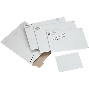 Kraft Stayflats® Mailers, 9 3/4in. x 12 1/4in.