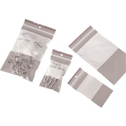 "04""W x 06""L 4.0 mil Staples Minigrip Reclosable Bags with Hang Hole, 1000/Case (MGRL4WH0406)"