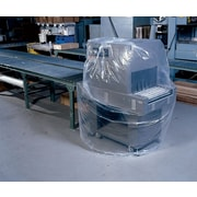 "48""W x 48""D x 60""H 3.0 mil Staples Extra-Large Gusseted Poly Bags, 50/Case (686093)"