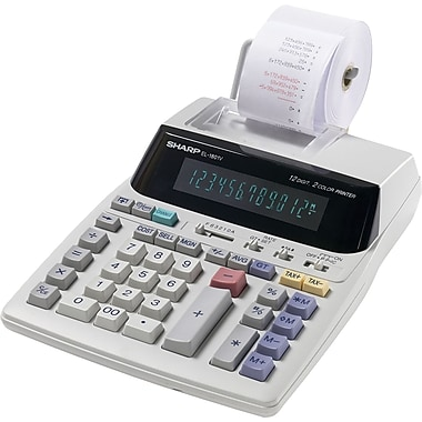Sharp EL-1801V Printing Calculator