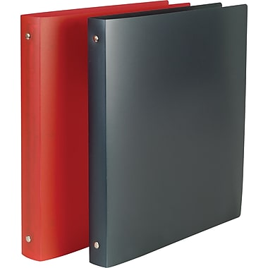 1in. Simply™ Poly Binders with Round Rings