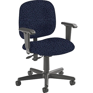 Global Custom Adjustable Task Chair, Plum, Premium Grade