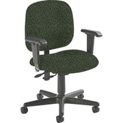Global Custom Adjustable Task Chair, Jade, Premium Grade