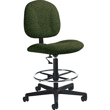 Global Custom Deluxe Drafting Chair, Jade, Premium Grade