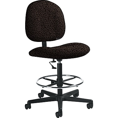Global Custom Deluxe Drafting Chair, Stone, Premium