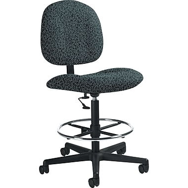 Global Custom Deluxe Drafting Chair, Cobalt, Premium Grade