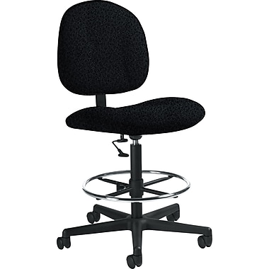 Global Custom Deluxe Drafting Chair, Graphite, Premium Grade