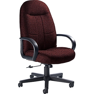 Global Custom Manager's Chair, Cabernet, Premium Grade