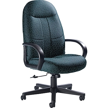Global Custom Manager's Chair, Sapphire, Premium Grade