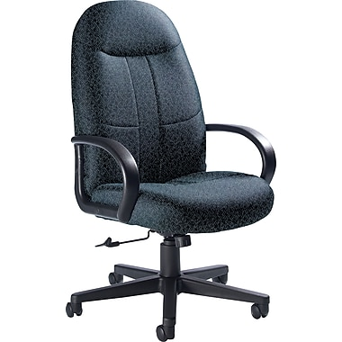 Global Custom Manager's Chair, Cobalt, Premium Grade